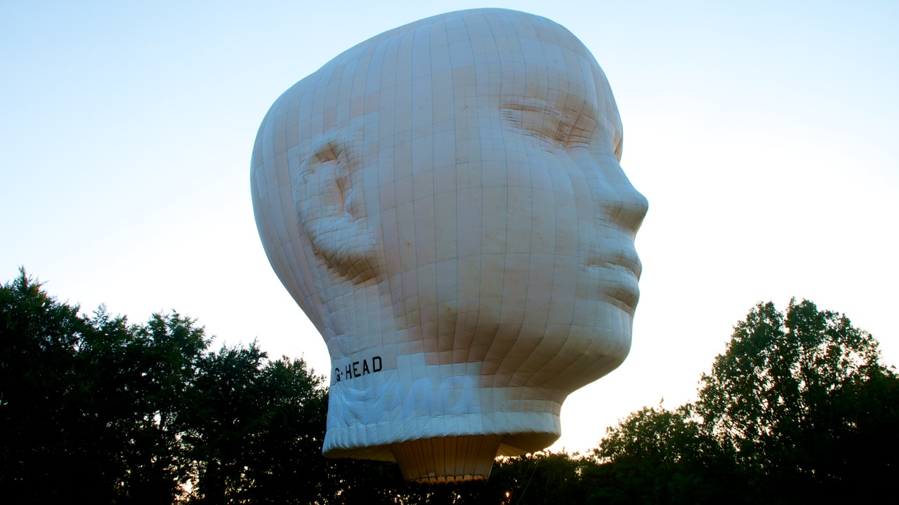 "Ballon ""The Head"" bij Ike Visser"
